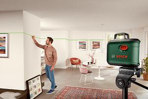 Обзор лазерного нивелира Bosch UniversalLevel 360: зеленый луч на 360°